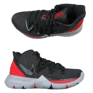 Nike Kyrie 5 Basketball Shoes Black University Red